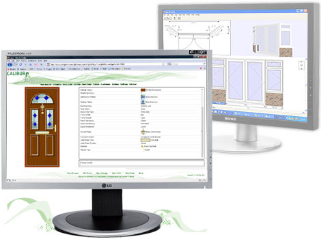 Window industry software showing online door and panel products and the bays and bows Caliburn Fusion  sc 1 th 194 & Caliburn Fusion software for manufacturing production and order ...