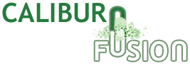 Caliburn Fusion for the window, door and conservatory industry logo.